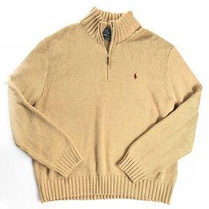 Polo Ralph Lauren 3/4 Zip Sweater